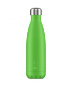 CHILLY'S BOTTLE NEON GREEN...