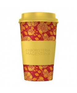 MANDALA CUP gialla rossa -...